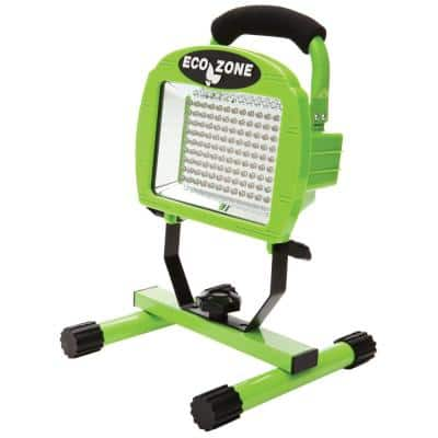 Designers Edge Green Portable Bright LED Workshop Lighting
