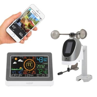 WiFi Professional Wireless Weather Station with Wind Speed & Direction