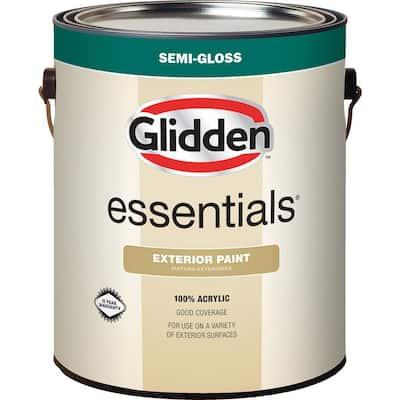 1 gal. Base 3 Semi-Gloss Exterior Paint