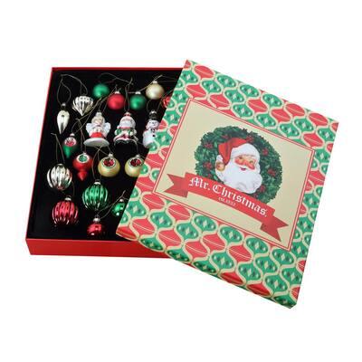 30-Piece Vintage Ornament Set