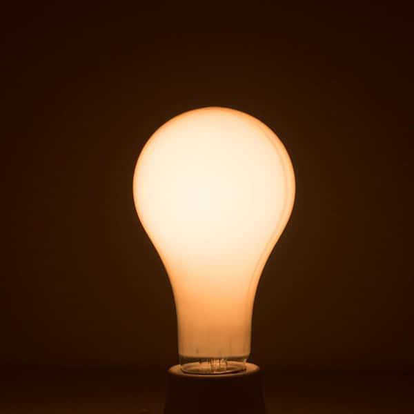 Bulbrite 50 100 150 Watt A21 Frost Dimmable Light 3 Way Incandescent Light Bulb Warm White 12 Pack 860877 The Home Depot