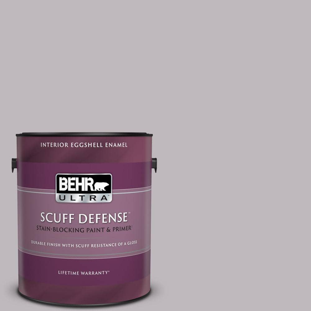 Behr Ultra 1 Gal N570 2 Standing Ovation Extra Durable Eggshell Enamel Interior Paint Primer 275401 The Home Depot