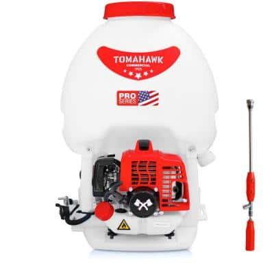 5 Gal. Gas Power Backpack Sprayer with Fogging Attachment for Pesticide, Disinfectant and Fertilizer