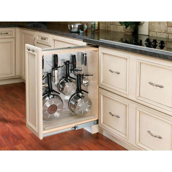 D Pull Out Between Cabinet Base Filler, Roll Out Cabinet Drawer