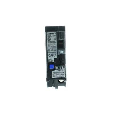 20 Amp 1-Pole Combination Type AFCI Plug-On Neutral Circuit Breaker