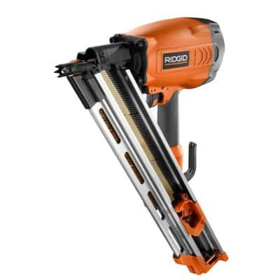 Pneumatic 30 to 34-Degree 3-1/2 in. Clipped Head Framing Nailer