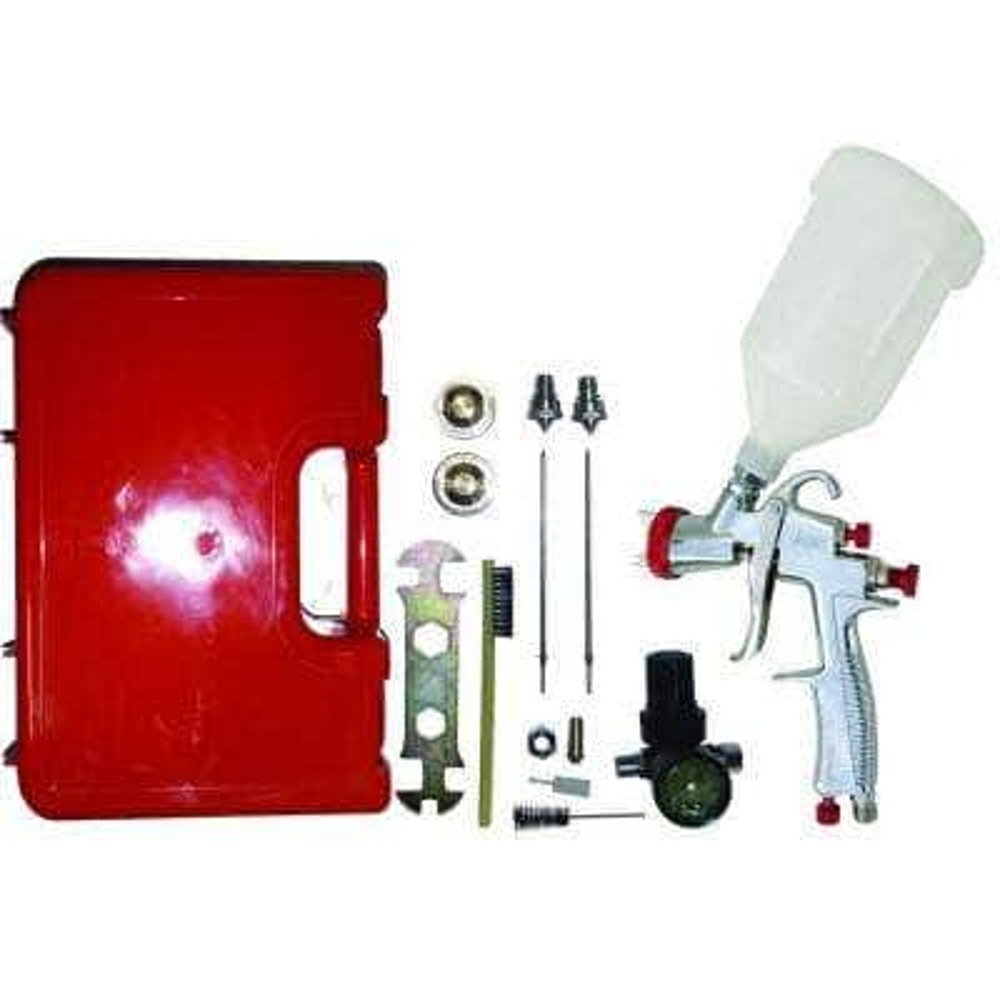 LVLP Gravity Feed Spray Gun Kit