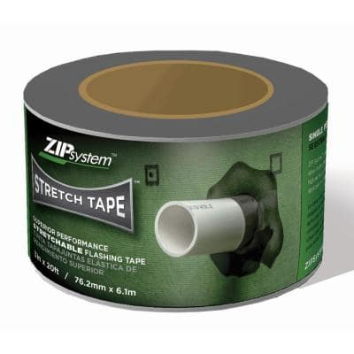 3 in. x 20 ft. ZIP System Linered Stretch Flashing Tape
