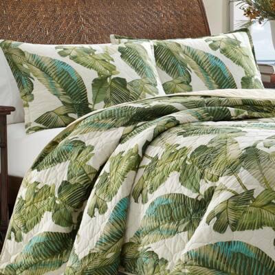 Fiesta Palms Cotton Quilt Set