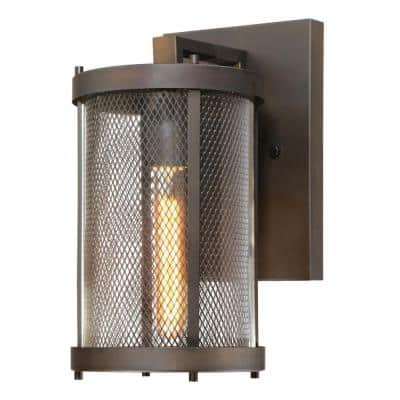 Skyview Oil Rubbed Bronze 1-Light Outdoor Wall Lantern Sconce