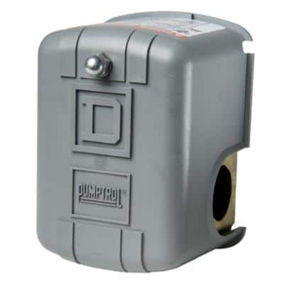 30-50 psi Pumptrol Well Pump Water Pressure Switch - Box Packaging