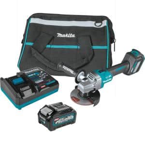 40V Max XGT Brushless Cordless 4-1/2/5 in. Angle Grinder Kit, with Electric Brake, AWS Capable (4.0Ah)