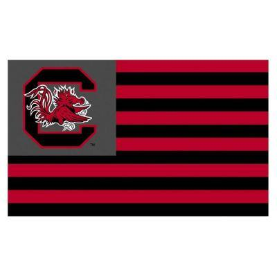 NCAA 28 in. x 40 in. South Carolina 2-Sided Banner with Pole Sleeve