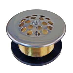 Beehive Strainer Drain in Polished Chrome