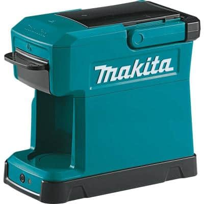 3-Cup 18-Volt LXT/12-Volt MAX CXT Lithium-Ion Teal Cordless Coffee Maker (Tool Only)