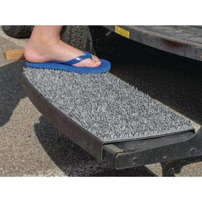 Charcoal Gray Sand Away Step for Most Curved Stow Away Steps
