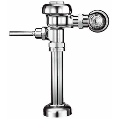 186 XL Water Saver (1.5 GPF/5.7 LPF), 3082653 Urinal Flushometer for 3/4 in. Top Spud Urinals, Polish Chrome