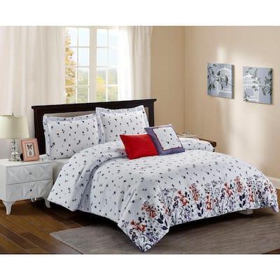 Meadow White Comforter Set