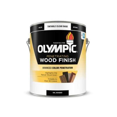 1-gal. American Walnut Semi-Transparent Oil-Based Wood Finish Penetrating Interior Stain
