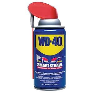 8 oz. Multi-Use Product, Multi-Purpose Lubricant Spray with Smart Straw