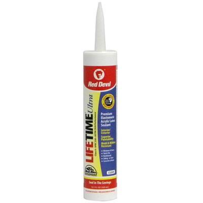 Ultra 10.1 oz. Clear Acrylic Latex Caulk