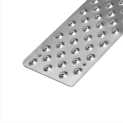 Handi Treads Non Slip Tread, Aluminum, Silver, 30 inch x 3.75 inch