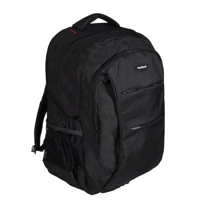 18 in. Black Business Pro USB Laptop Backpack