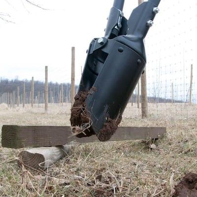 48 in. Fiberglass Handle Post Hole Digger