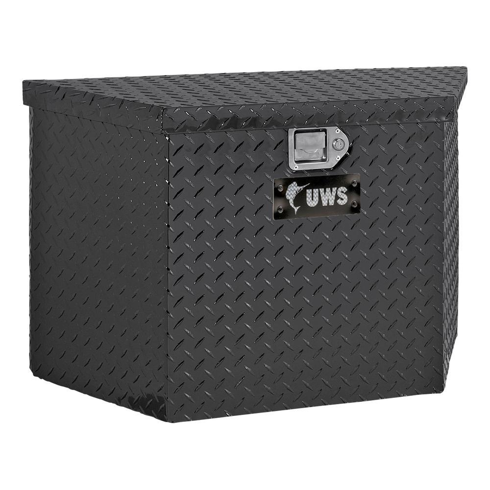 50 Gloss Black Aluminum  Trailer Tongue Truck Tool Box