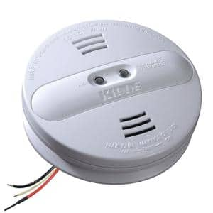 Firex Hardwired Smoke Detector with Ionization and Photoelectric Dual Sensors