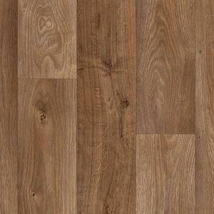 Arlington Oak Wood Residential Vinyl Sheet Flooring 13.2ft. Wide x Cut to Length