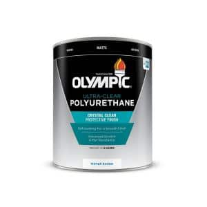 1-qt. Ultra-Clear Matte Water-Based Interior Polyurethane