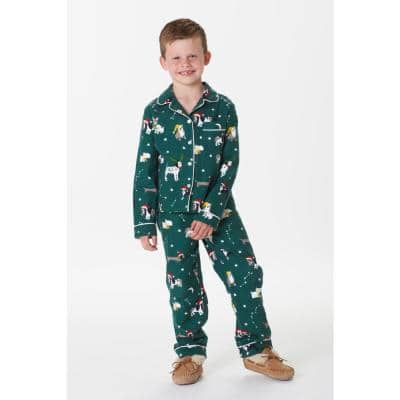 Family Flannel Company Cotton™ Kid's Pajama Set in Holiday Dog