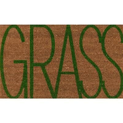 Aloha Grass 1 ft. 6 in. x 2 ft. 6 in. Door Mat