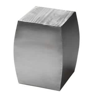 Butler Getty Stainless Steel Accent Table