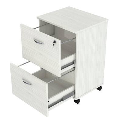 Laricina White Filing Cabinet