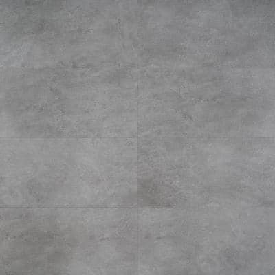 Slate Dark Gray 12 in. x 24 in. Waterproof Rigid Core Click-Lock Luxury Vinyl Tile Flooring (28.04 sq. ft. / case)