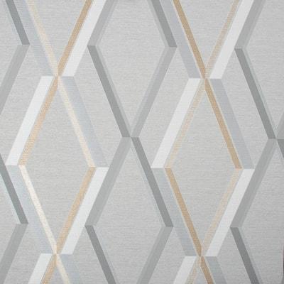 Prestige Geo Grey Wallpaper Sample