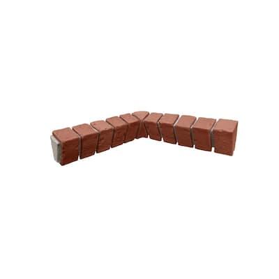 16 in. x 3 in. x 3.75 in. Classic Brick Veneer Siding Inside Corner Ledger