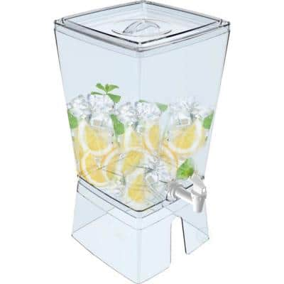 320 oz. Stackable Juice and Water Beverage Dispenser