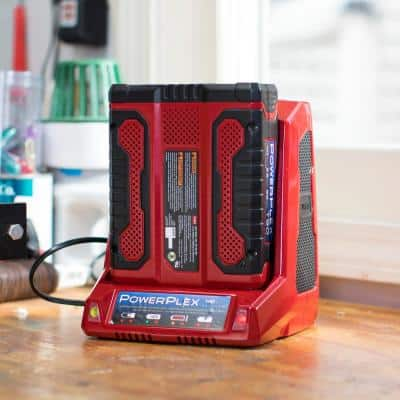 PowerPlex 40-Volt Max Lithium-Ion Quick Battery Charger