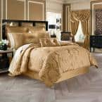 Colonial Gold King 4Pc. Comforter Set