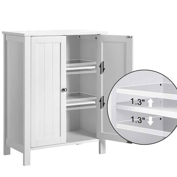 Nestfair 23 6 In W Bathroom Floor, Bathroom Floor Storage Cabinets