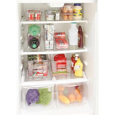 Clear X-Large Refrigerator Shelf Organizer
