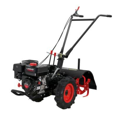 20 in. 212 cc Gas-Powered Forward/Reverse Rear Tine Tiller with CARB Compliant Engine