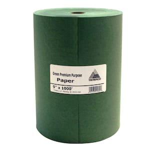 Easy Mask 9 IN. X 1000 FT. Green Premium Masking Paper
