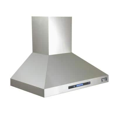 Professional 30 in. Wall Mounted Range Hood in Stainless Steel
