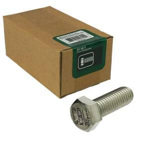 3/8 in.-16 x 1-1/2 in. Stainless Steel Hex Bolt (5-Pack)
