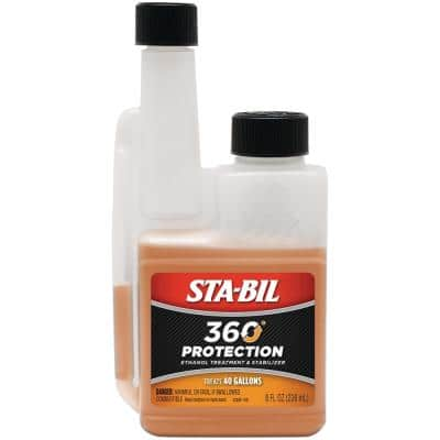 STA-BIL 360 Protection Ethanol Treatment and Stabilizer 8 oz. Treats 40 Gallons of Fuel