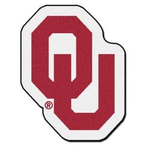 NCAA University of Oklahoma Red 3 ft. x 4 ft. Specialty Area Rug